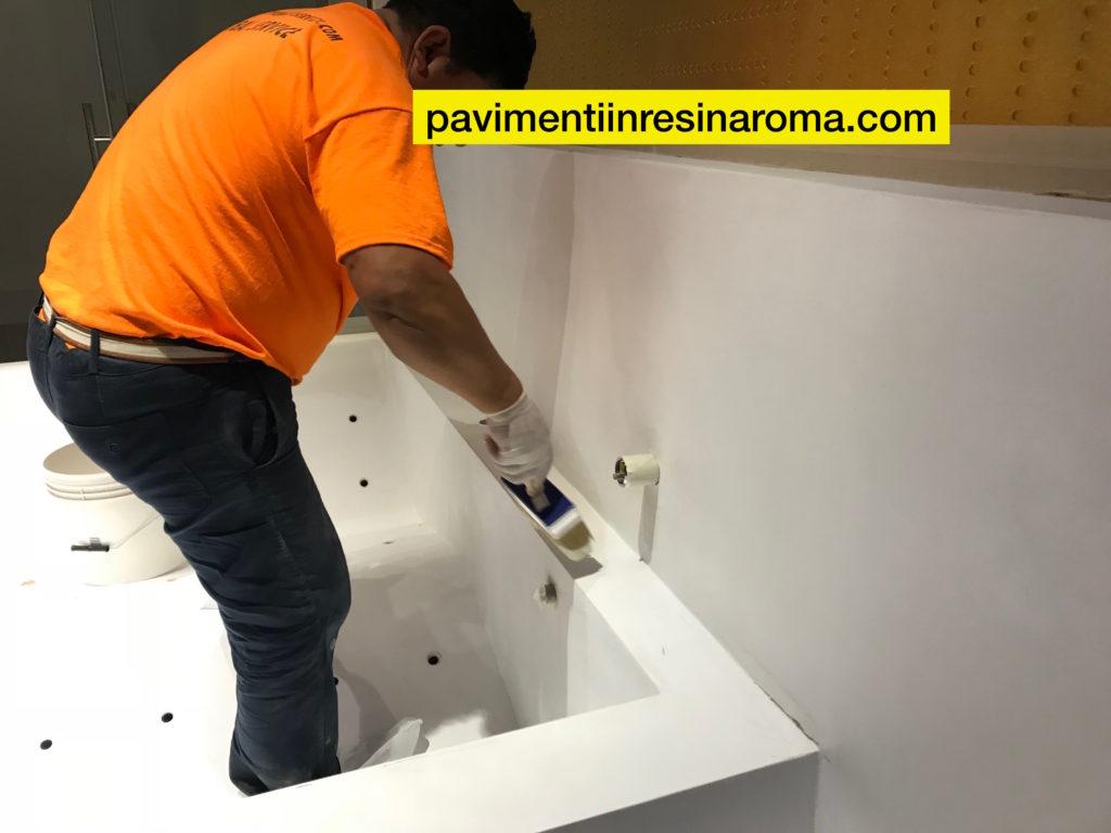 Vasca Da Bagno Usata Roma : Resina vasca bagno preventivi gratuiti 3483907380