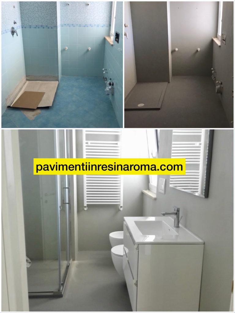 Ricoprire Vasca Da Bagno Prezzi bagno in resina - pavimenti in resina roma