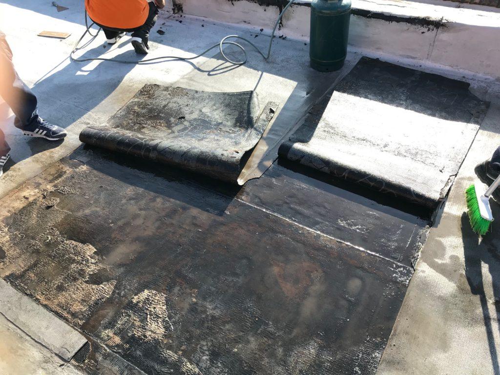 Guaina bituminosa pavimenti in resina roma for Guaina liquida mapei