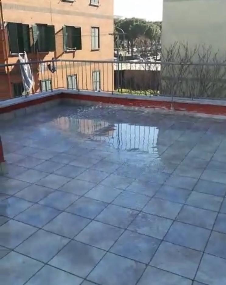 Prova Allagamento Pavimenti In Resina Roma